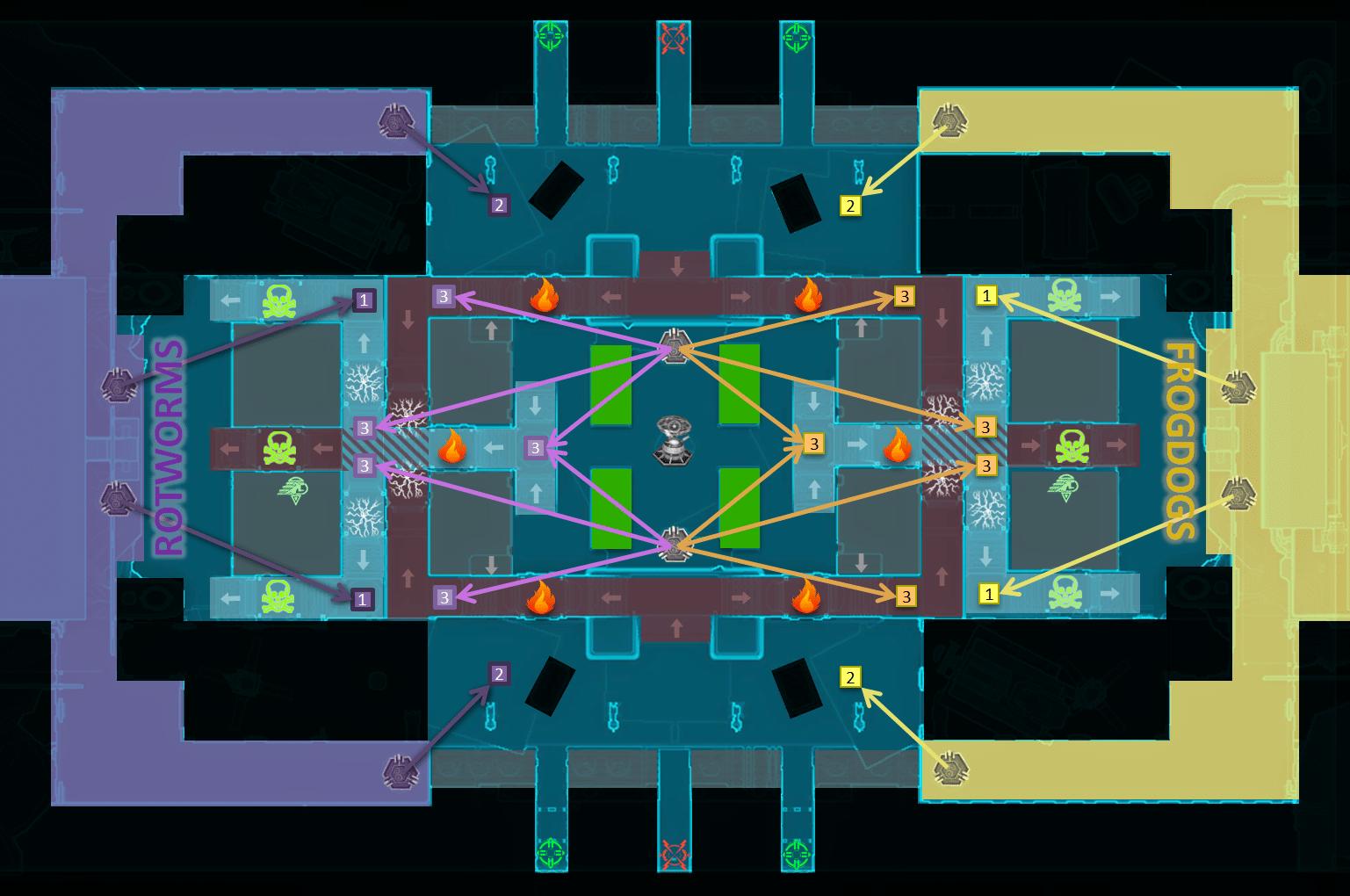 Vandin Huttball Map