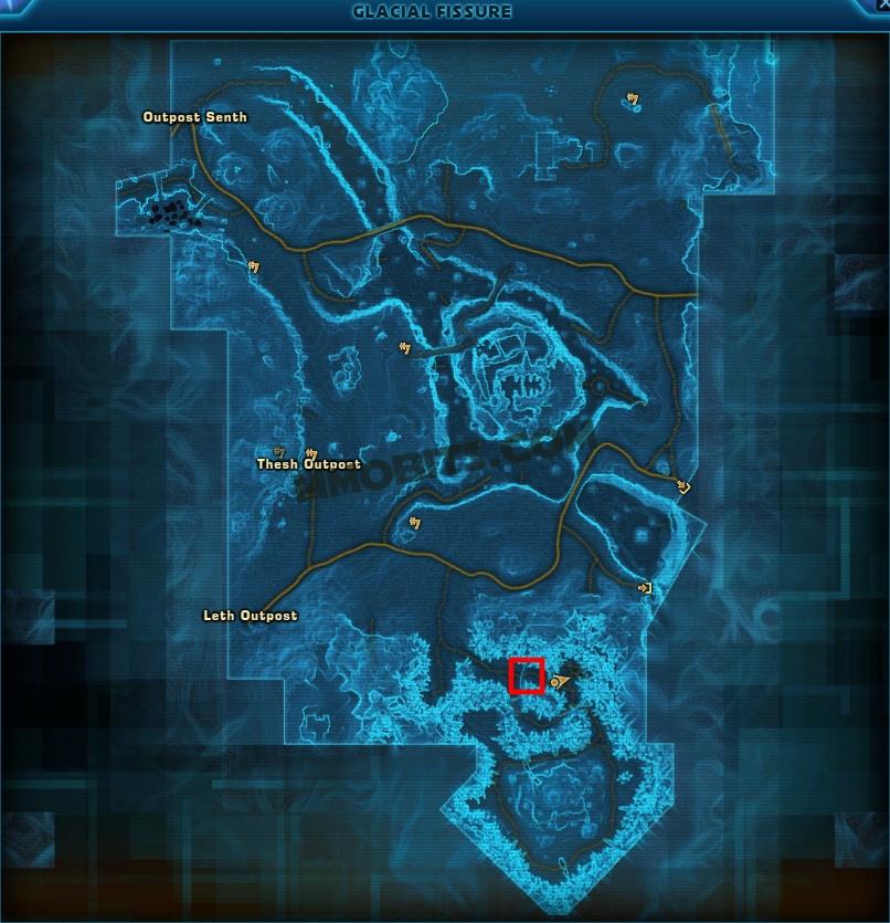 Star Wars The Old Republic Snowblind World Boss Map Location