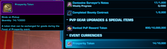 Feast of Prosperity Event Currency