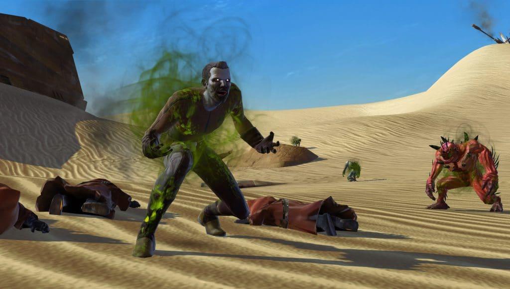 SWTOR In-Game Events Rakghoul Resurgenec Tatooine