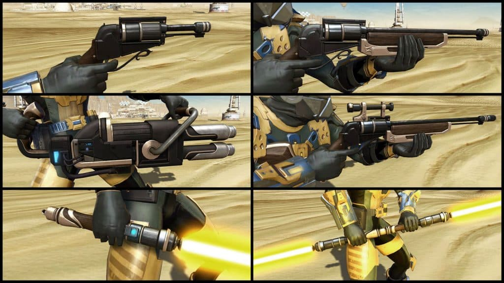 SWTOR Galactic Seasons 1 Reward Weapons