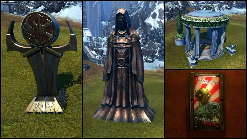 SWTOR Galactic Seasons Stronghold Decorations