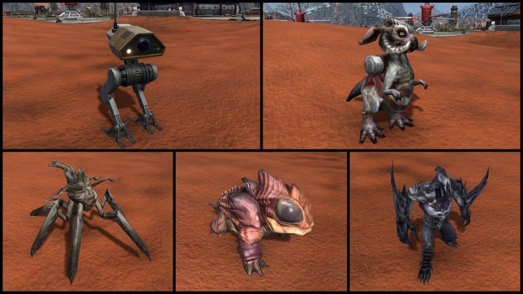 SWTOR Galactic Seasons Mini-Pets