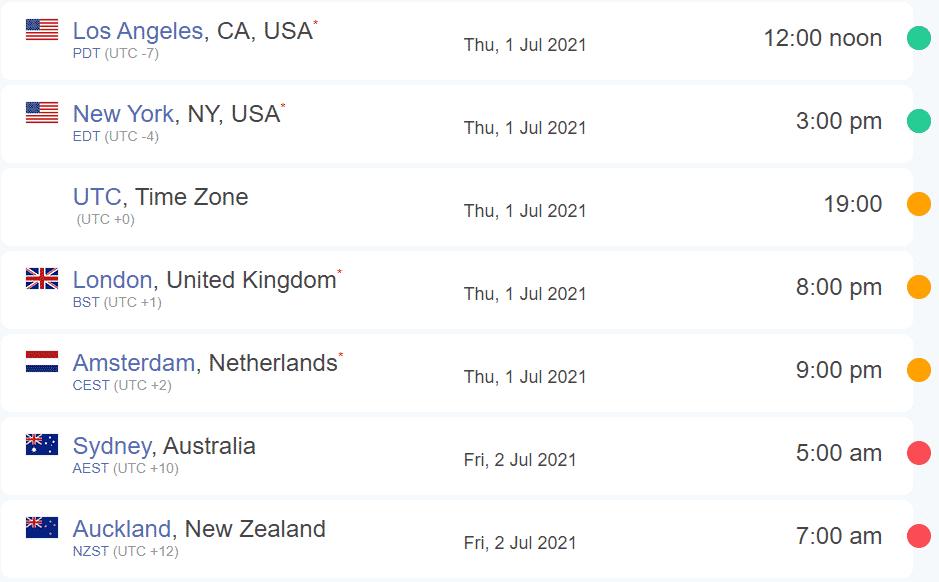 SWTOR 10-Year Anniversary Stream Times