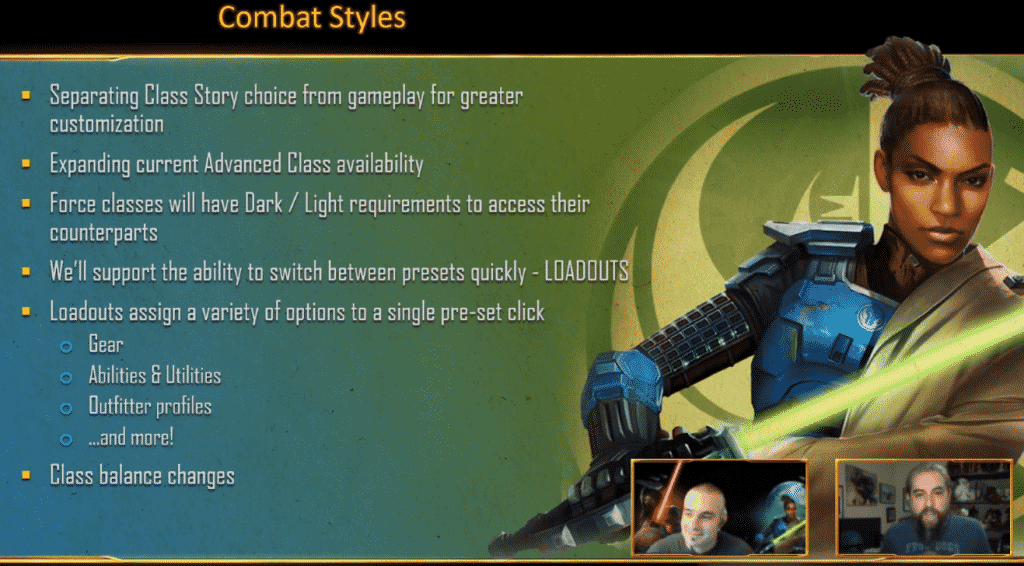 SWTOR Legacy of the Sith Combat Styles