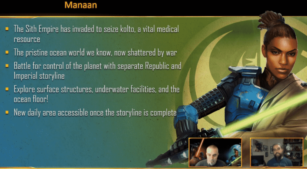SWTOR Legacy of the Sith Manaan