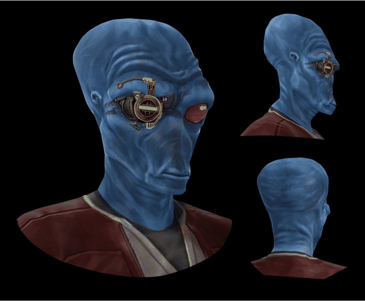 SWTOR Galactic Seasons 2 Duros Companion